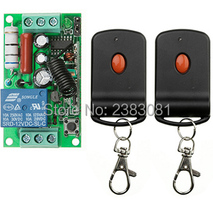 AC220V 1CH 10A RF Wi-fi Distant Management Swap System teleswitch 2 transmitter & 1 receiver relay Receiver Sensible Residence Swap