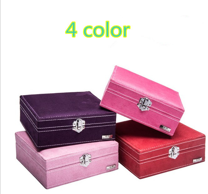 Free shipping european high end wood structure with flannel covered free shipping european high end wood structure with flannel covered jewelry box christmas easter gifts box for your cute girl in jewelry packaging negle Choice Image