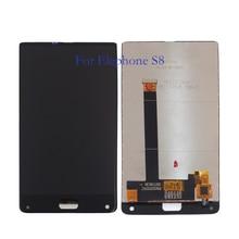 % 100% test Elephone S8 lcd ekran + dokunmatik ekran 6.0 inç sayısallaştırıcı bileşen cam yedek parçalar +