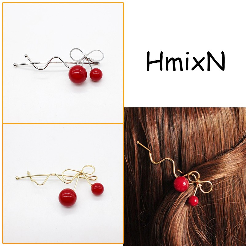 NEW Fashion Hairpins Round triangle Moon Hair pins Metal head jewelry for Women Lady Barrette Clip Hair Accessories Girls Holder 8