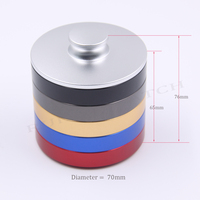 5pc Small Size 70*13mm Aluminum alloy watchmaker oil pot with lid watch cylinder