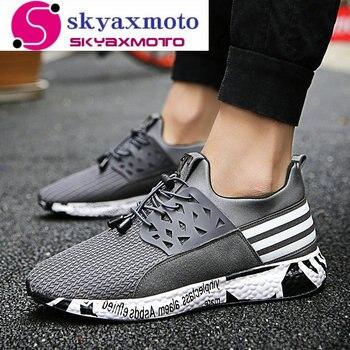 운동화 남성 운동화 커플 스포츠 운동 zapatillas 야외 excsies 위장 통기성 트레이너 신발 남성용