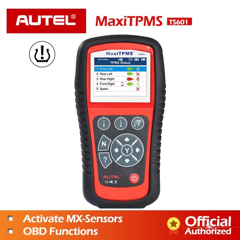 AUTEL MaxiTPMS TPMS TS601 TS401 Strumento Diagnostico PAD MX sensore Strumento di Programmazione MX-sensore 433 315 OBD2 Scanner Automotive scanner