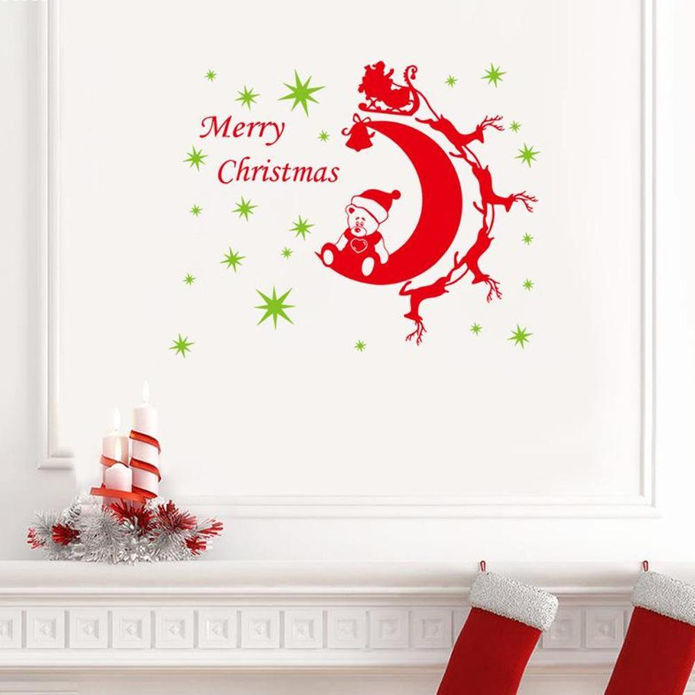 Buy christmas decorative wall stickers for House decoration products