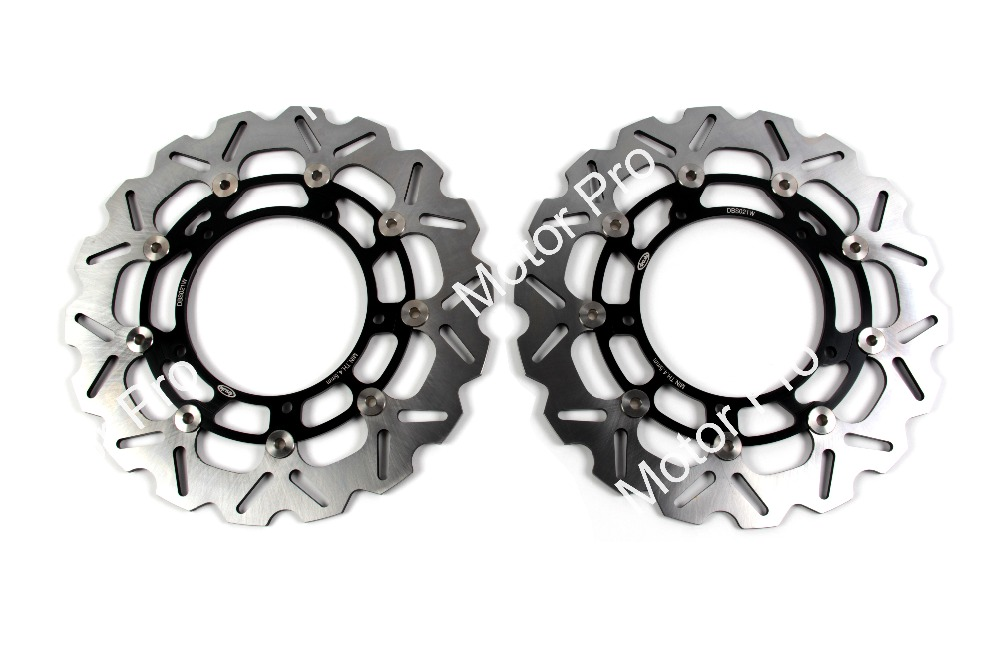 Front Brake Disc FOR YAMAHA YZF R6 2005 2006 2007 2008 2009 2010 2011 2012 2013 2014 2015 2016 YZF-R6 CNC brake disk Rotor 2pcs motorcycle front brake disc rotors for yamaha 2005 2012 yzf r6
