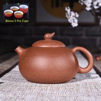 270ml Yixing Zisha Teapot Genuine Handmade Ore Purple Clay Wendan Tea Ketttle Kung Fu Teapot Tea Set Wholesale Free Shipping