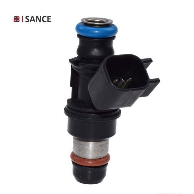 US $13 49 10% OFF|ISANCE Flow Matched Fuel Injector 12580681 217 1621 For  2004 2010 Chevrolet Silverado Suburban Colorado GMC Sierra 4 8 5 3 6 0-in