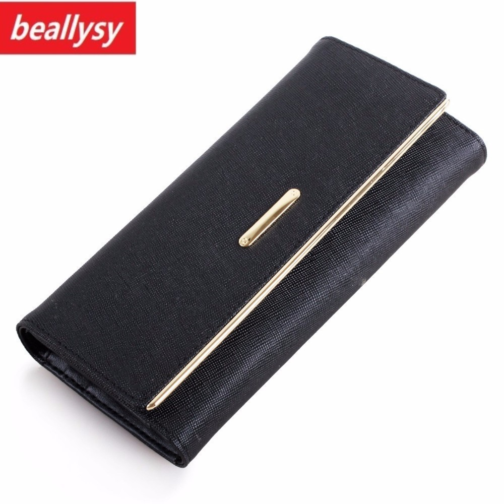 Fashion New Women long Wallet Luxury Brand Purse iphone RFID Wallet Genuine Oil Wax Leather Female Day Clutch Card Coin Holder 2018 new women wallets oil wax genuine leather high quality long design day clutch cowhide wallet fashion female card coin purse