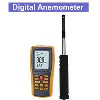 8903 Thermal Hot film Anemometer Digital Anemometer Meter Tester Wind Speed Wind Temperature Air Volume Measurement