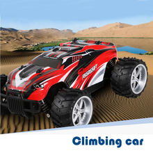 1/16 Scale RC Monster Car  2.4GHZ 2WD Fast Speed 20 Km/h Racing  Electric Big Wheel RTR Remote Control Off-road Cars Vehicle