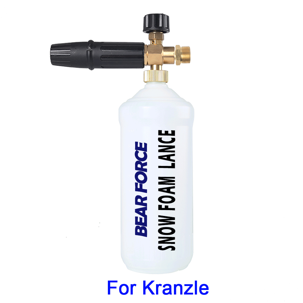 Foam Gun/ Foam Generator/ Snow Foam Lance Foam Sprayer/ High Pressure Soap Foamer For Kranzle Pressure Washer Car Washer