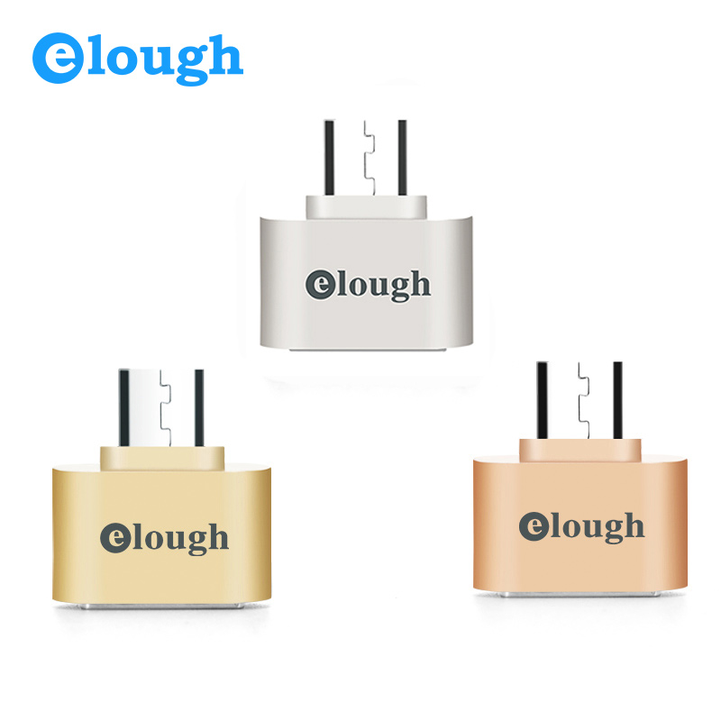 Elough Micro USB OTG Adapter Camera MP3 Hug Converter For Samsung Xiaomi Huawei LG Android Smartphone Mini Microusb OTG Adapter