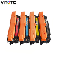 Toner Cartridge Compatible For HP LaserJet Enterprise 500 color M551dn M551n M551xh HP M570dw Color CE400A CE401A CE402A CE403A