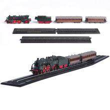 Высокая моделирования 1:220 масштаб сплава поезд модель отступить угля паровоз металлические игрушечные машинки Детские игрушки Подарки Бесплатная доставка