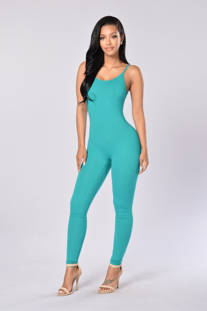 Fashion Sexy Bodysuit Women   Jumpsuit   Long for Women Sportswear for Women Green White Women   Jumpsuit   2019 Summer New Clothing