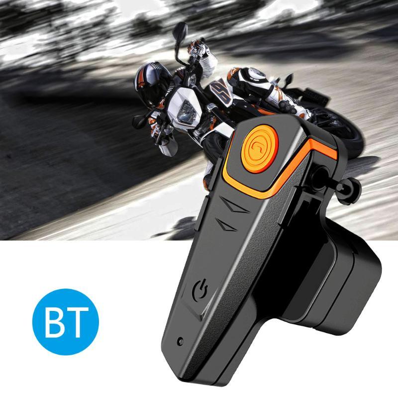 1000M Updated Version Motorcycle Helmet Full Duplex Motobike Helmet Intercom Interphone Headset EU Plug With Earphone