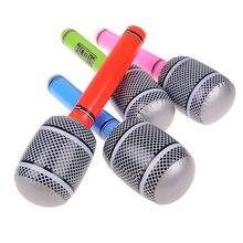 1 предмет Прохладный веселый подарок вечерние поставки декорации Опора музыкальные игрушки для Для детей надувные Инструменты Набор микрофонов