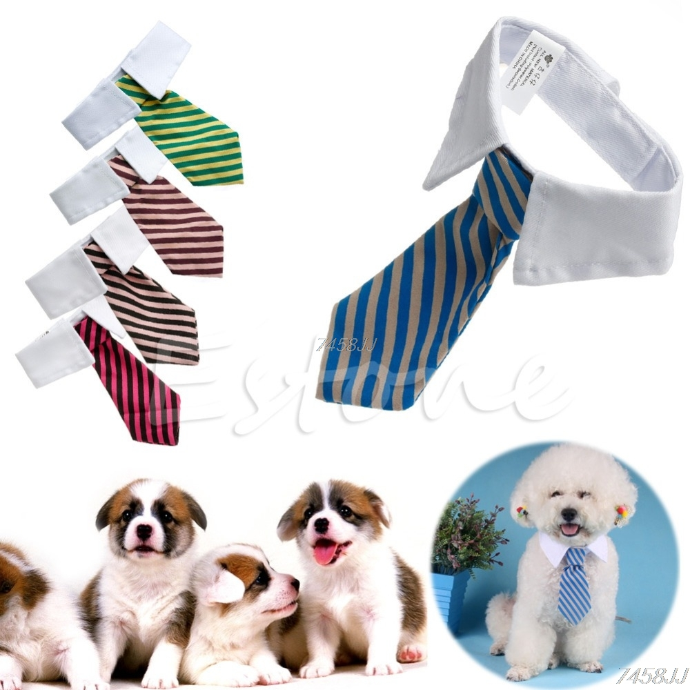 Gentleman Pet Supplies Puppy Necktie Small Dog Costumes Clothes Tie for Dog Cat G03 Drop ship