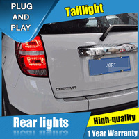 2PCS Car Styling for Chevrolet Captiva Taillights 2008 2015 for Captiva LED Tail Lamp+Turn Signal+Brake+Reverse LED light