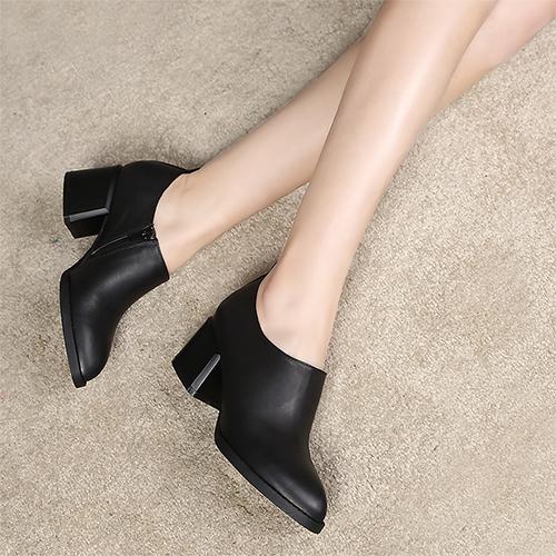Primavera e no outono apontou sapatos único para as mulheres Genuine sapatos de couro da sy-1639