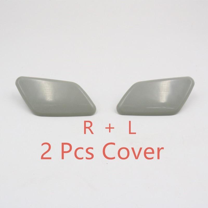 Налобный распылитель для омывателя Форсунка с крышкой для Mitsubishi Outlander - Color: 2 pcs nozzle cover