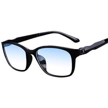 NYWOOH Men Reading Glasses Women Anti blue rays Eyeglasses Hyperopia Glasses TR90 Presbyopia Eyewear with +1.0 +4.0