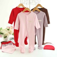 100 Cotton Newborn Baby Girls Rompers Bebe Boys Romper Body Suit For Babies Jumpsuit 3 Pieces