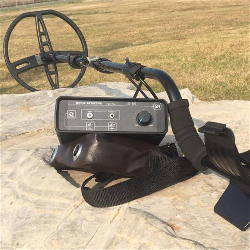 S65 Pulso Professional Metal Detector Metro Ouro Prata Tesouro Localizador equipamentos de Som de Alarme De Longa Distância de Até 3.5 M