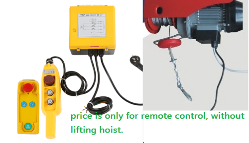 Wireless Remote Control For PA mini electric hoist PA500/1000KG ...