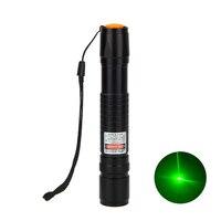 3 pcs 10Km 2em1 Poderosa Caneta Ponteiro Laser Verde 532nm 3 mw Estrela Cap ao ar livre e ensino usando
