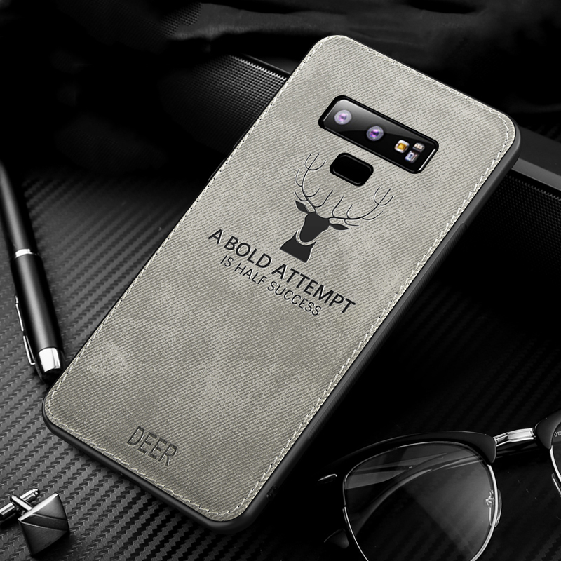 MAKAVO-For-Samsung-Galaxy-Note-9-Case-Retro-Fabric-Cloth-Texture-Soft-Cover-Anti-Sweat-Phone (6)