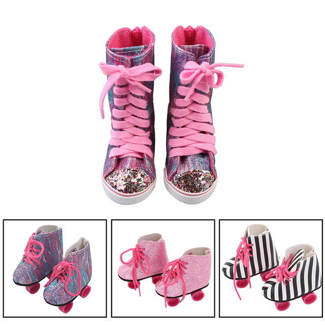 Bjd Doll Shoes 18 inch doll clothes gifts for children Zapf Dolls Accessories american girl doll clothes baby born clothes 43cm 1