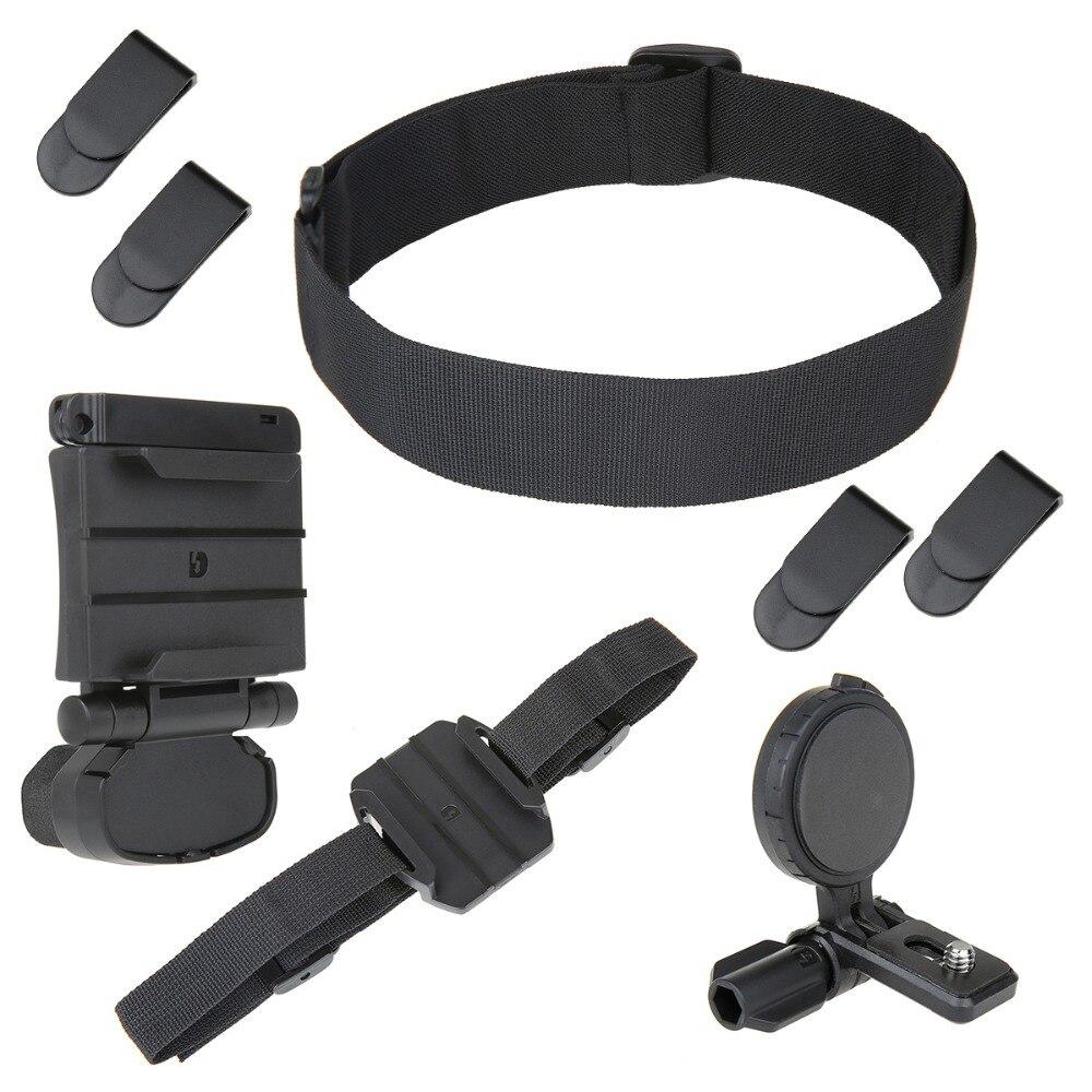 UHM1 Kit de montaje de cabeza Universal para Cámara de Acción Sony HDR AS30V/AS100V/AS15/AS300/AS50/ AS200V/X1000V/AS20/AS30VAZ1/FDR-X3000