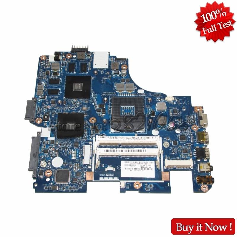 NOKOTION MBWMV02001 Laptop Motherboard For Gateway ID49C MB.WMV02.001 NELA0 LA-6151P DDR3 GT330M graphics Card nokotion for acer aspire 5750 laptop motherboard p5we0 la 6901p mainboard mbrcg02005 mb rcg02 005 mother board