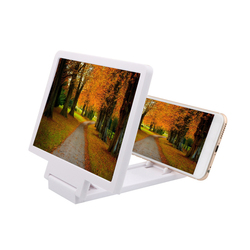 Universal Mobile Phone Screen Magnifier Bracket Enlarge Stand Eyes Protection Folding 3D phone Screen Display Amplifier Expander