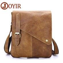 JOYIR Luxury Cow Leather  Messenger Bag Genuine Leather Men Bag Travel Crossbody Bag Brand Designer Shoulder Bag For Male
