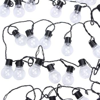 outdoor 10m 38 led party string fairy light christmas xmas globe bulb led fairy string light garland garden street wedding decor