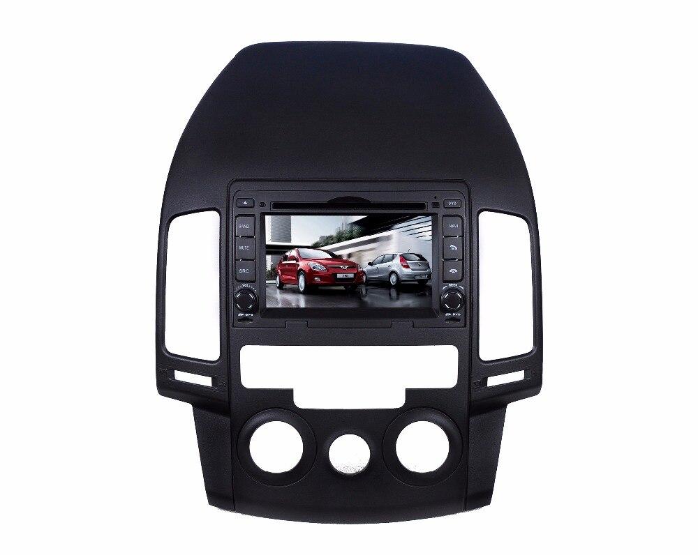 Octa Core Android 8.0 S200 lecteur DVD de Voiture Pour Hyundai I30 manuel AC Écran Tactile GPS Navigation Multimédia de voiture de dispositif stéréo