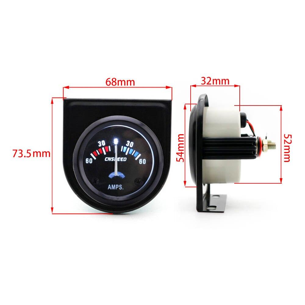 Free shipping CNSPEED AMP meter gauge 2