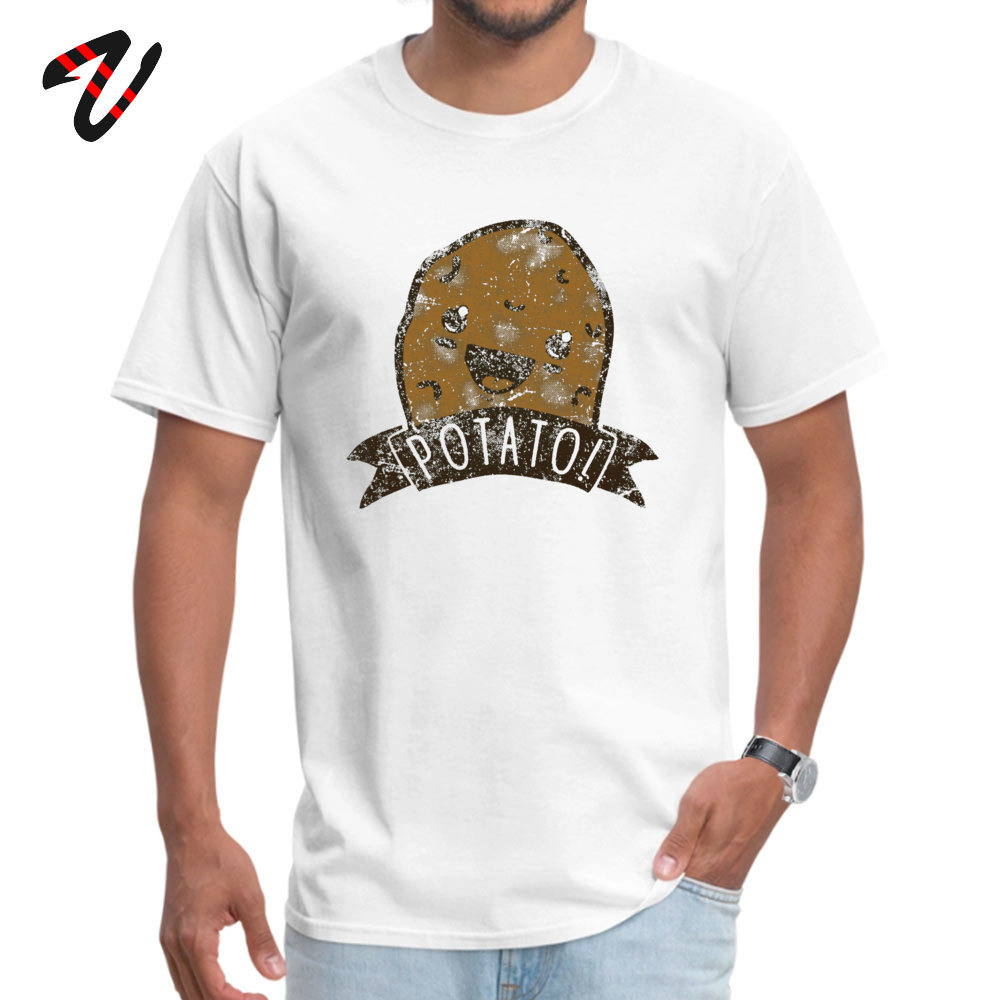 POTATO Funny T shirts for Men Mathematics Thanksgiving Day Tops TShirt Print Tee Shirts Short Sleeve 2019 Aesthetic Clothing in T Shirts from Men 39 s Clothing
