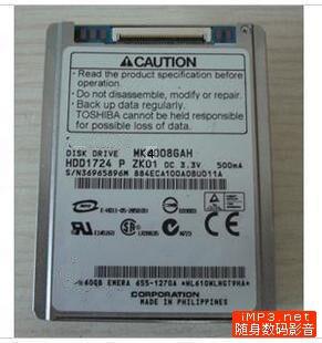 Ny 1.8inch CE 40GB HDD MK4008GAH udskift mk8009gah mk1214gah til Lenove U110 K12 Dell d430 D420 HP NC2400 2510P HARDDISK