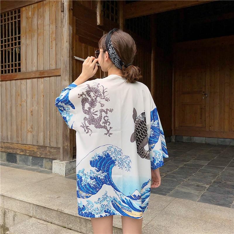 Kimono japonés Rebeca tradicional obi yukata mujeres kimonos japoneses tradicionales Japón ropa mujer kimono cardigan Kimono de satén para hombre japonés disfraz de samurai japonés dragón chino pijamas Haori ropa asiática vestidos de noche fiesta en casa Yukata