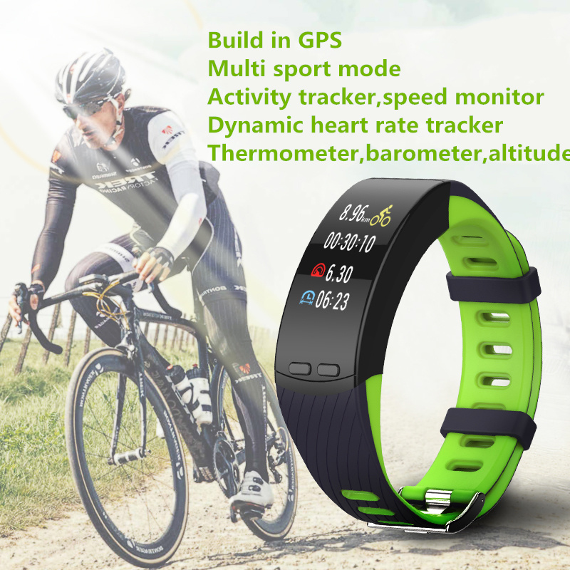 Heart Rate GPS Watch Activity Speed Monitor Cycling Smart Band Armband Bluetooth Multi Sport Fitness GPS Bracelet For Men Women cute love heart hollow out bracelet watch for women