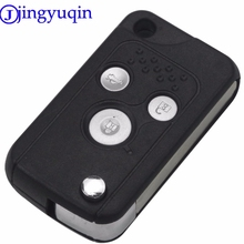jingyuqin Remote 3 Buttons Control Folding Key Case Shell Cover For Honda Civic / Fit / CRV / Frontal / Accord