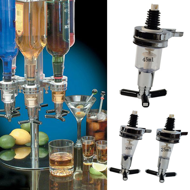 Wall Mounted Cocktail Spirit Juice Beverage Liquor Dispenser Pourer Barware Tool
