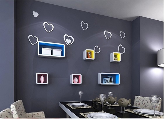 3d pegatinas de pared decoraci n tv pared de fondo for Pegatinas pared ninos