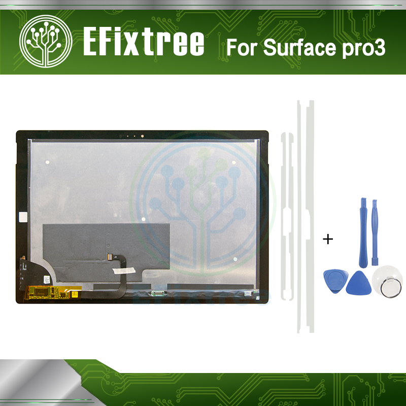 Surface Pro 3 LCD LTL120QL01 003 For Microsoft Surface Pro 3 (1631) TOM12H20 V1.1 LCD Display Assembly Full New