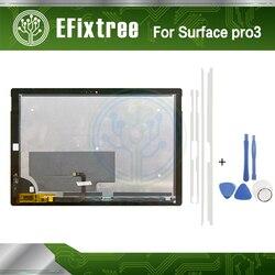 Superficie pro 3 LCD LTL120QL01 003 Per Microsoft Surface Pro 3 (1631) TOM12H20 V1.1 Display LCD di Montaggio completo Nuovo