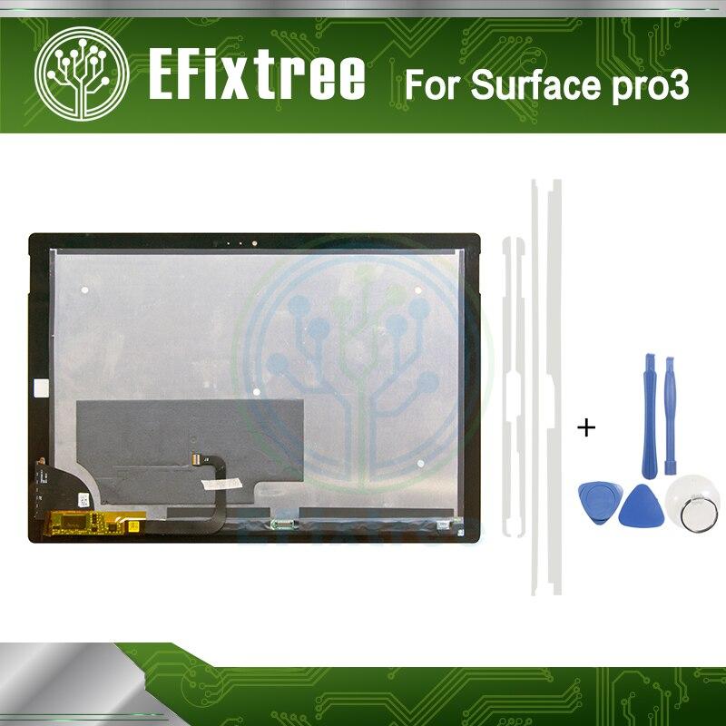 Surface pro 3 LCD LTL120QL01 003 Pour Microsoft Surface Pro 3 (1631) TOM12H20 V1.1 Assemblée D'affichage À CRISTAUX LIQUIDES complet Nouveau