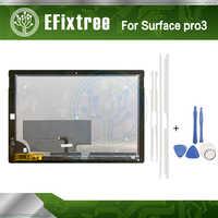 Surface pro 3 LCD LTL120QL01 003 para Microsoft Surface Pro 3 (1631) TOM12H20 V1.1 montaje de pantalla LCD completamente nuevo